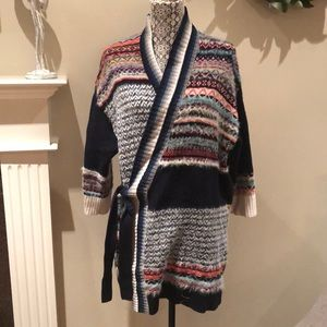 ANTHRO XS/S WRAP CARDIGAN